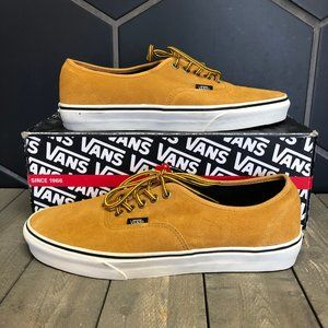 New W/ Box! Vans Authentic Hiker Suede Wheat Tan